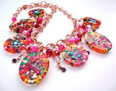Resin candy charm necklace  candy necklace  by sparklecityjewelry, $116.00