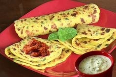 Perfect Breakfast, Brunch or Lunch Aloo Paratha Recipe. I simply love them with Aachar(Indian Pickle) and Cucumber Raita(Spicy Yogurt) Aloo Paratha (Stuffed Spicy shallow fried Mashed Potato Bread)…