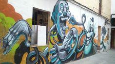 Arte urbano en Málaga - Lagunillas