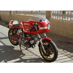 Vintage Ducati | caferacersmiddleeast's photo