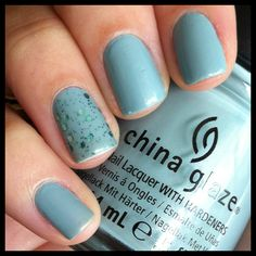 Sea Spray - China Glaze + Nostalgic - LA Girl