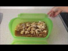 Solomillos de pollo con jengibre y naranja en estuche de vapor Lekue Dog Bowls, Carne, Youtube, Food, Steamer Recipes, Sirloin Steak Recipes, Light Recipes, Hoods