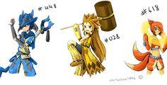 Pokemon Adoption :Close: by WhiteShiro1996