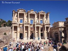 The Library of Celsus at Ephesus - Follow me on Instagram for more travel motivation, great photos and travel tips! @theobservantexcursionist