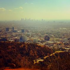 we hiked Runyon Canyon this past weekend. awesome.