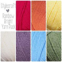 Rainbow Bright Yarn Pack - Stylecraft Special DK