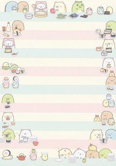 "San-X Sumikko Gurashi ""Sushi"" Memo #2 | by Crazy Sugarbunny"