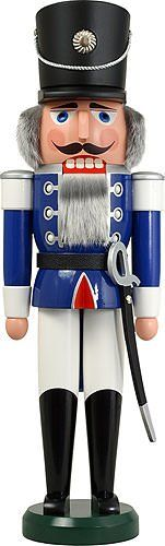 German Nutcracker Husar Blue *** You can get additional details at the image link.