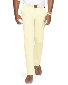Polo Ralph Lauren Greenwich Flat-Front Chino Pants - Classic Fit