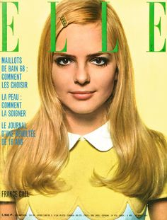 France Gall on the cover of Paris Elle