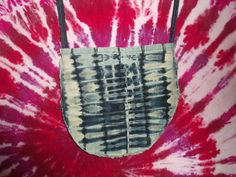 Tie Dye Denim Bag. $35.00  http://www.etsy.com/shop/EleCtricAmethyst?ref=seller_info