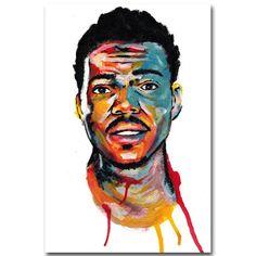 Chance The Rapper Art Poster 3 Sizes Acid Rap By BabesnGents