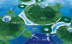 環境アイランド GREEN FLOATの全体像