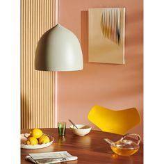 Fritz Hansen Suspence P1.5 hanglamp | FLINDERS Dining Room Table, Dining Chairs, Plywood Design, Fritz Hansen, Arne Jacobsen, Room Setup, Grand Prix, Home And Living, Table Settings