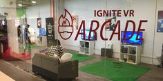 Ignite VR Arcade allows you to experiment with VR before purchasing one