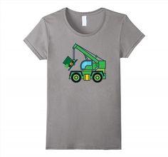 19.95$  Buy here - http://viooz.justgood.pw/vig/item.php?t=f2j0mf1841 - St Patricks Day Irish Shamrock Boys Tow Truck T-shirt Women 19.95$