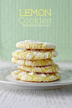 Best Easy Lemon Cookies from a cake mix that everyone will love. soft, chewy, easy perfect for Easter, Spring, Summer, birthday parties, school parties, or any day you want a sweet treat recipe. #lemon #cookies #dessert #backtoschool #summer #easyrecipe #recipe #sweet #cookie