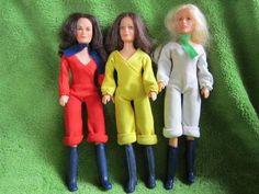 Vintage 1977 Lot 3 Charlie's Angels Dolls Jill Kelly Sabrina Hasbro 1970's Toys | eBay