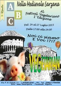 Ripalta Castle VEGETARIAN Fest 2015