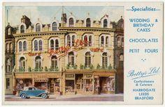 Postcard of Bettys, Cambridge Crescent, Harrogate