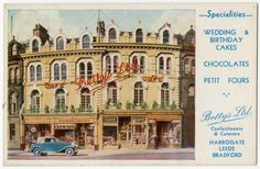 Postcard of Bettys, Cambridge Crescent, Harrogate