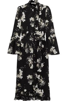 Winter Florals - Erdem Dress