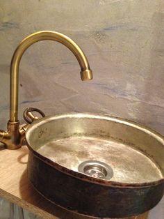Self made sink. Kastelorizo