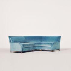 Perry Street Mini Boomerang Sofa By Avenue Road