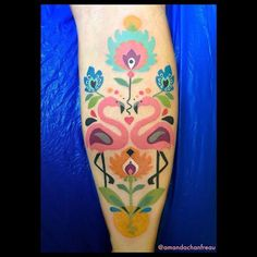 Finished this super fun flamingo-composition on Erika's leg today! 💕 #Tattoo #tatuering #tatuaje #colortattoo #flamingo #flamingotattoo #folkarttattoo #kurbitstattoo #flowertattoo #amandachanfreau #malört #malörtmalmö #malmötattoo #friisgatan #tattrx #mementoartist #taot #tattooersubmission #tattoooftheday #tattooart #ladytattooers #femaletattooartist #inkstagram #inkstinctsubmission #tattoorandom #tattooful #tattoofilter #art #konst #qbmcartist