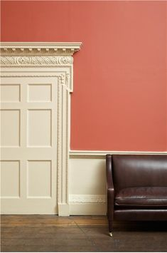 Farrow & Ball Inspiration - Blazer and String Red Paint Colors, Favorite Paint Colors, Wall Colors, House Colors, Colour Red, Farrow Ball, Farrow And Ball Paint, Coral Walls, Red Walls