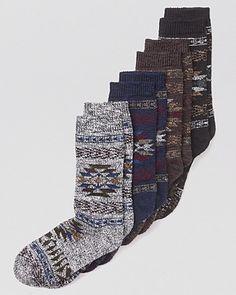 Tribal Boot Socks