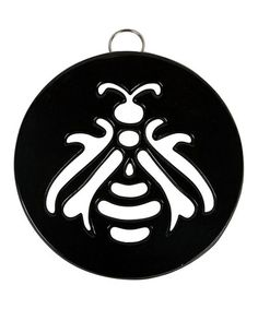 Take a look at this Onyx Royal Bee Trivet by Core Kitchen on #zulily today!
