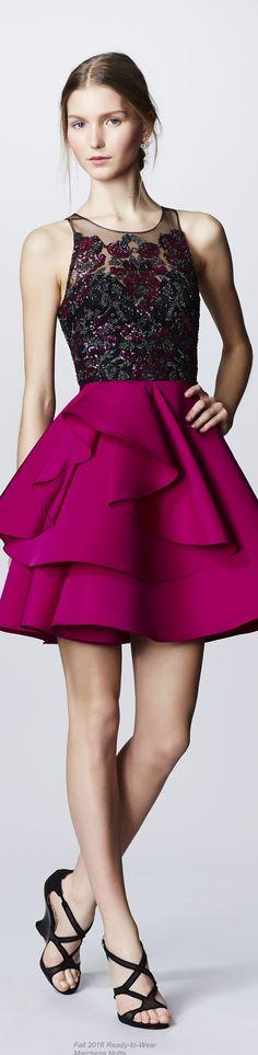 Fall 2016 Ready-to-Wear Marchesa Notte