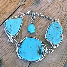 Chunky Turquoise Bracelet ~ $19.95