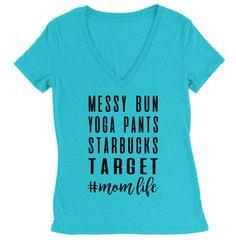 Mom Life Shirt  Coffee Shirt  momlife Shirt  Mom Life