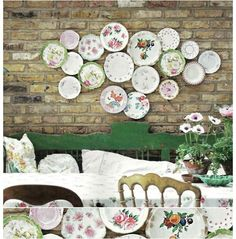 So beautiful, when you hang your plates. Especially if you have a plate addiction, like I do. Sincerely, JoAnne Craft