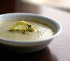 Creamy Roasted Cauliflower and Artichoke Soup Recipe