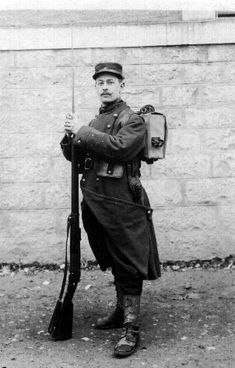 """The French Infantryman of 1914 - Uniform and Equipment Affectionately nicknamed """"les pioupious"""", or """"the young ones"""", the…"""