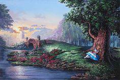 Alice in Wonderland - Dreaming of Wonderland - Rodel Gonzalez - World-Wide-Art.com