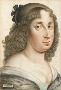 """""""Portrait of Kristina I, Queen of Sweden and Grand Duchess of Finland"""" by Jörger von Tollet (1657)"""