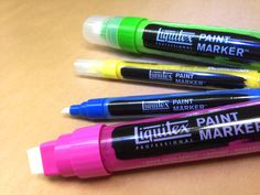 Liquitex Paint Markers!!  Very exciting! @Liquitex