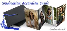#Graduation #Accordion #Announcements, #Photo Cards, and #Graduation Photo gifts