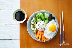 I'm pinning it to win it Deconstructed Sushi Bowl on the Program – I Quit Sugar Sushi Bowl, Good Food, Yummy Food, Fusion Food, No Sugar Foods, Sugar Free Recipes, Healthy Salads, I Foods, Food Inspiration