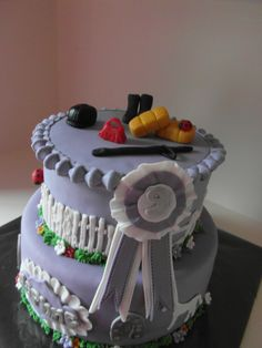 paardentaart/ horse cake