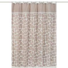 Sweet Jojo Designs Giraffe Shower Curtain