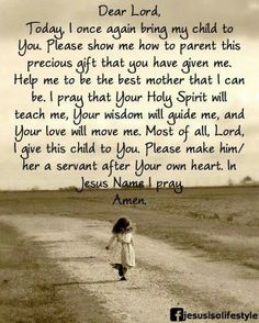 In Jesus' name. Wonderful prayer for parents, prayed a similar one for over 25 years. God is faithful to Momma's prayers! Missing Family Quotes, Life Quotes Love, Me Quotes, Qoutes, Mommy Quotes, Prayer Quotes, Mother Quotes, Mothers Love Quotes, Daughter Quotes