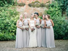Lilac bridesmaids dresses from Coast Bride and Groom from a Sweet Summer Country House Wedding | Photography by http://shuttergoclick.photoshelter.com/