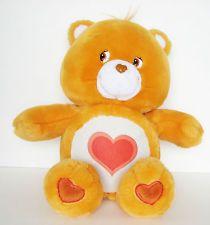 "Tenderheart Talking Care Bears 2004 13"" Plush Stuffed Animal Lights Up Hugs"