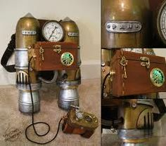 Steampunk rocket pack..