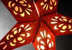 Star Lanterns Mexicali Red & Gold 24 in. Ultra Velvet $7.99 each
